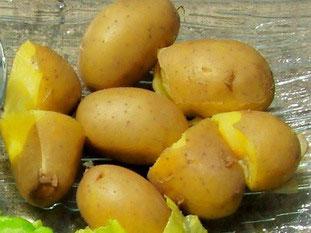pommes de terre cuites