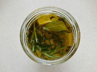Feta à l'huile d'olive aux herbes : Photo de l'étape 10