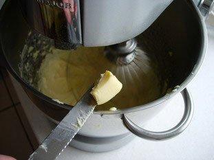 Crème au beurre : Photo de l'étape 5