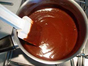 Ganache au chocolat : Photo de l'étape 3