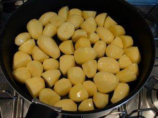 Pommes de terre grillées : Photo de l'étape 2