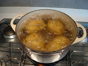 Purée de pommes de terre : Photo de l'étape 1