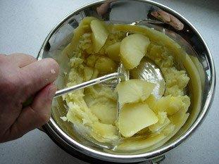 Purée de pommes de terre : Photo de l'étape 4