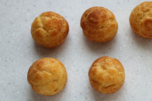 Pâte à choux : photo finale