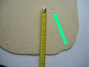 Puff or flaky pastry (p�te feuillet�e) : Photo of step #5