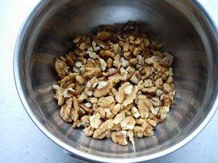 Pâte de noix : Photo de l'étape 1
