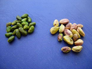 p 226 te ou poudre de pistache