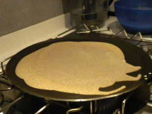 Buckwheat pancakes : Photo of step #5
