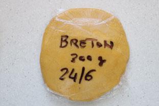 Pâte à sablés Bretons : Photo de l'étape 6