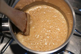 Sauce normande (pour poisson) : Photo de l'étape 2