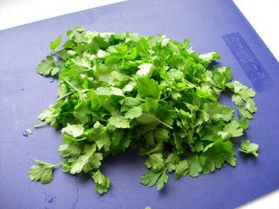 Sauce verte au persil : Photo de l'étape 1