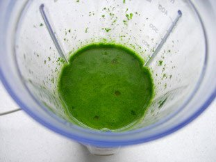 Sauce verte au persil : Photo de l'étape 6