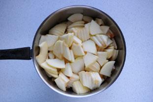 Compote de pommes : Photo de l'étape 1