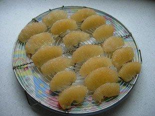 Chaud-froid de pamplemousse-ananas, crème au citron vert : Photo de l'étape 3