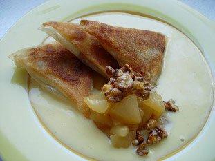 Samoussas aux poires et noix caramélisées : Photo de l'étape 26