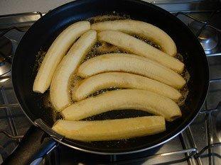 Bananes flambées légères : Photo de l'étape 4