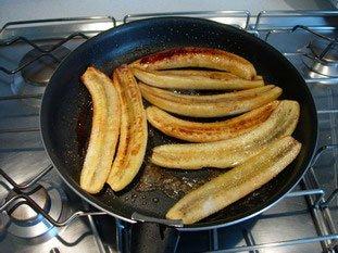 Bananes flambées légères : Photo de l'étape 6
