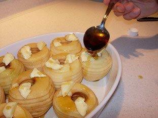 Pommes au four de St Aubin le vertueux : Photo de l'étape 4