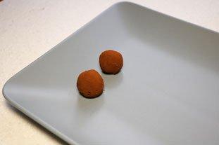 Truffes en chocolat : Photo de l'étape 9