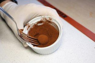 Truffes en chocolat : Photo de l'étape 8