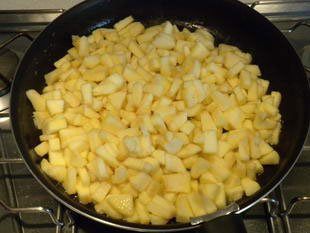 Tatin apples with mascarpone cream : Photo of step #3