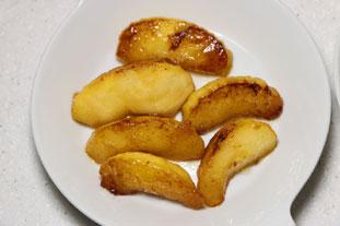 Pommes flambées Normandes : Photo de l'étape 8