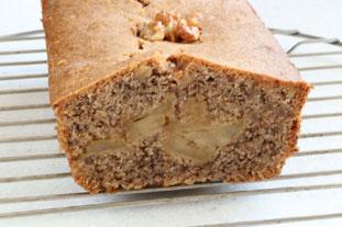 Gâteau aux noix et pommes caramélisées : Photo de l'étape 26