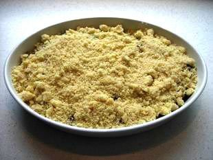 Crumble aux fruits : Photo de l'étape 6