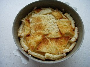 Apple charlotte with toasted brioche : Photo of step #12