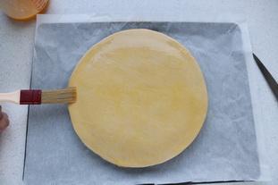 Galette des rois à la crème d'amandes : Photo de l'étape 8