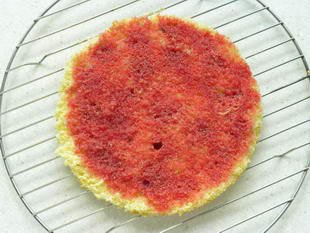 Fraisier (French strawberry cake) : Photo of step #12