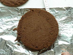 Gâteau de la forêt noire : Photo de l'étape 2