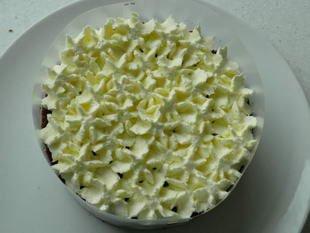Gâteau de la forêt noire : Photo de l'étape 12