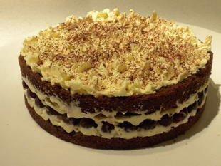 Gâteau de la forêt noire : Photo de l'étape 14