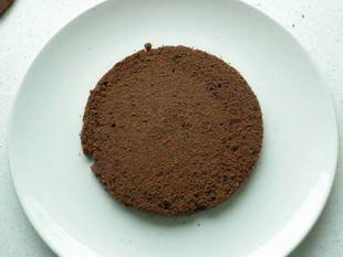 Gâteau de la forêt noire : Photo de l'étape 3