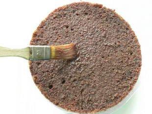 Gâteau de la forêt noire : Photo de l'étape 11