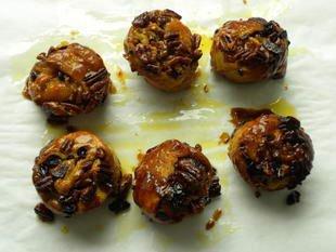 Rouleaux feuilletés aux fruits secs : Photo de l'étape 11