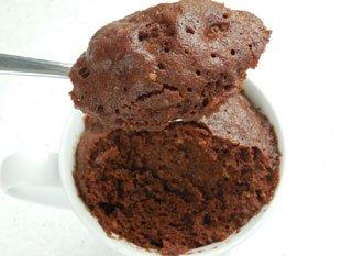 Mug-cake au chocolat : Photo de l'étape 9