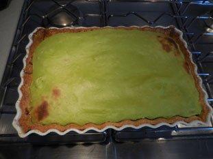 Flan pâtissier à la pistache : Photo de l'étape 14
