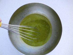 Flan pâtissier à la pistache : Photo de l'étape 8