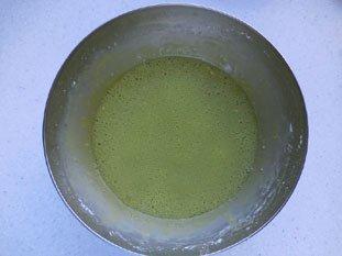 Flan pâtissier à la pistache : Photo de l'étape 9