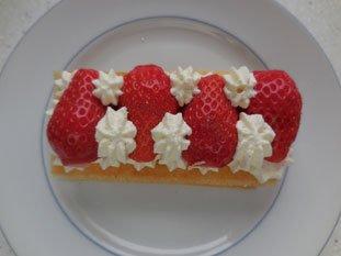 Feuilleté aux fraises express : Photo de l'étape 11