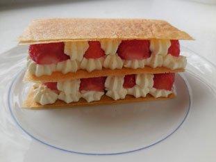 Feuilleté aux fraises express : Photo de l'étape 12