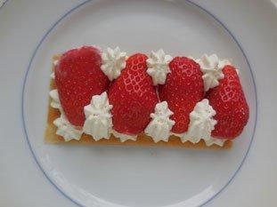 Feuilleté aux fraises express : Photo de l'étape 9