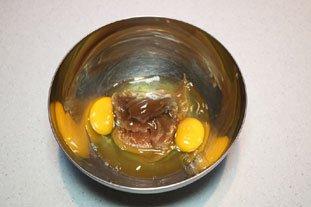 Gâteaux fondants à la crème de marrons : Photo de l'étape 1