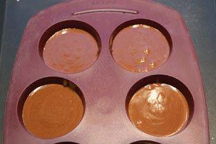 Gâteaux fondants à la crème de marrons : Photo de l'étape 6