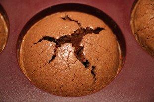 Gâteaux fondants à la crème de marrons : Photo de l'étape 7