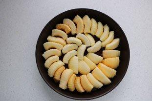 Gâteau renversé aux pommes caramélisées : Photo de l'étape 9