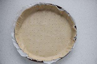 Flan croustillant pistache-amandes-abricots : Photo de l'étape 1