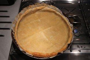Flan croustillant pistache-amandes-abricots : Photo de l'étape 13